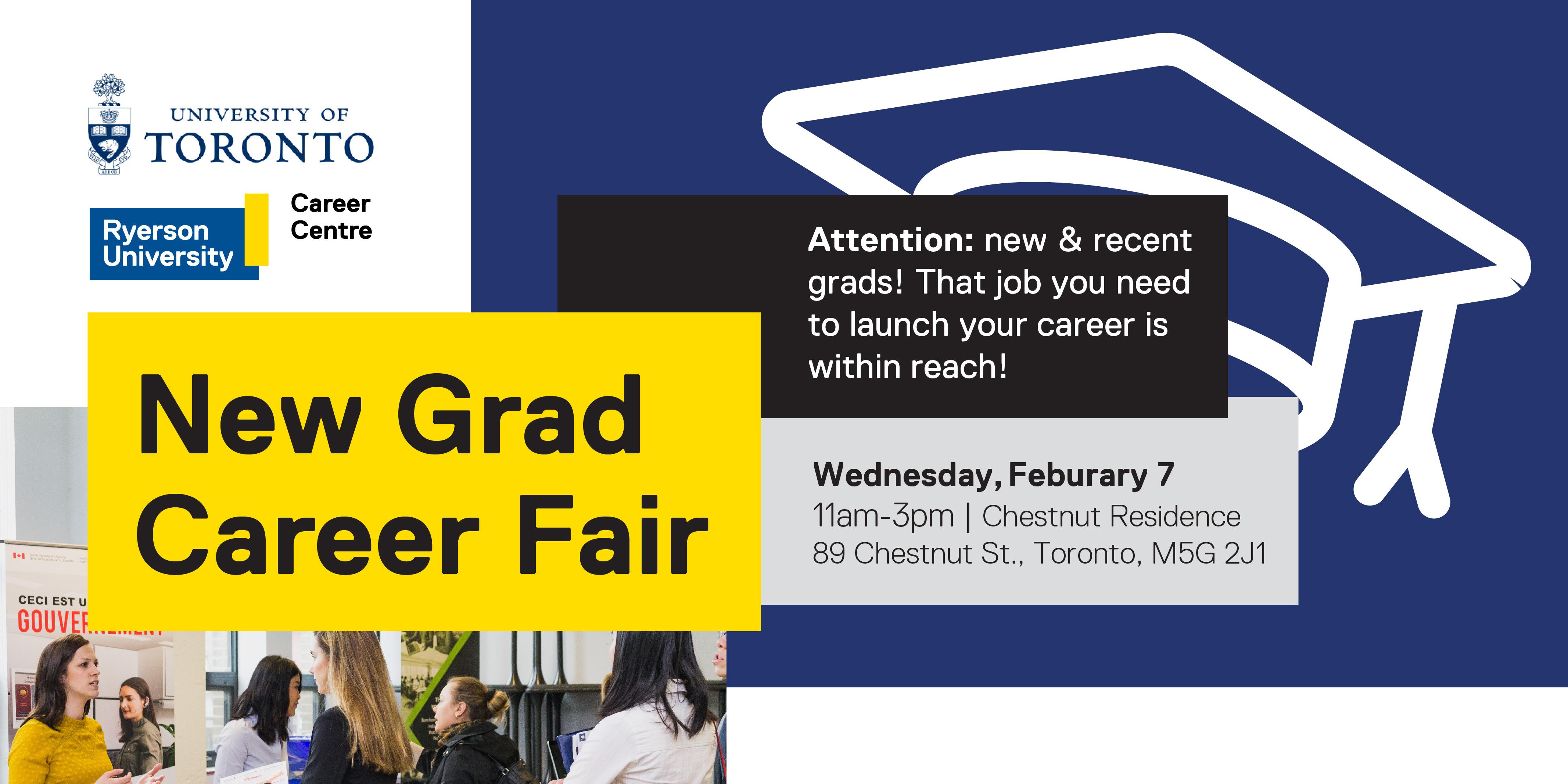 New Grad Career Fair @ Chestnut Residence | Toronto | Ontario | Canada