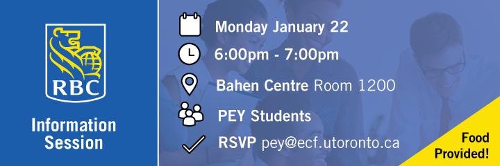 RBC Info Session @ Bahen Centre 1200 | Toronto | Ontario | Canada